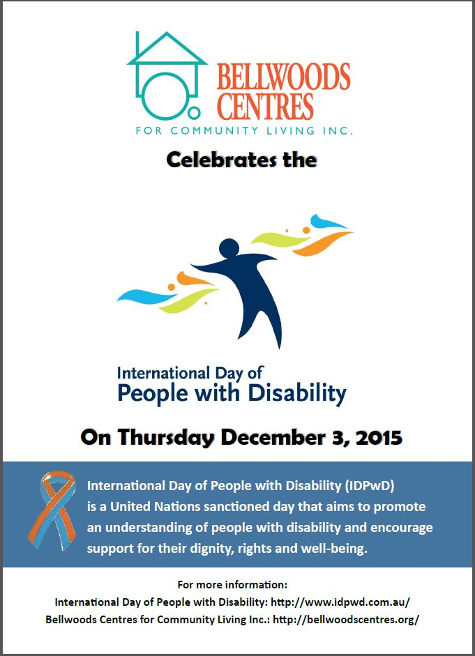 Bellwoods Centres celebrates International Day of People with Disability